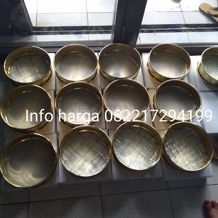 Jual Brass Round / Sieve Analysis ( Alat Lab Tanah ) || 082112325856