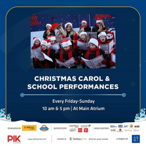 CHRISTMAS CAROL & SCHOOL PERFORMANCE